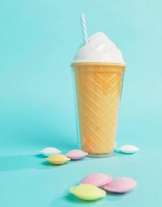 Стакан в виде мороженого с трубочкой Sunnylife - Мульти