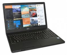 "Ноутбук FUJITSU LIFEBOOK A557, 15.6"", Intel Core i5 7200U 2.5ГГц, 8Гб, 500Гб, Intel HD Graphics 620, DVD-RW, noOS, LKN:A5570M0005RU, черный"