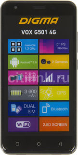 Смартфон DIGMA G501 4G VOX, темно-красный