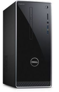 Компьютер DELL Inspiron 3668, Intel Core i7 7700, DDR4 8Гб, 1000Гб, 128Гб(SSD), NVIDIA GeForce GTX 1050 - 2048 Мб, DVD-RW, Windows 10 Home, черный [3668-7215]