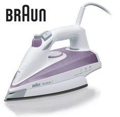 Утюг BRAUN TS715, 2300Вт, фиолетовый/ белый