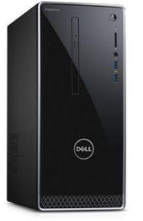 Компьютер DELL Inspiron 3668, Intel Core i7 7700, DDR4 8Гб, 1000Гб, 128Гб(SSD), NVIDIA GeForce GTX 1050 - 2048 Мб, DVD-RW, Linux Ubuntu, черный [3668-7208]