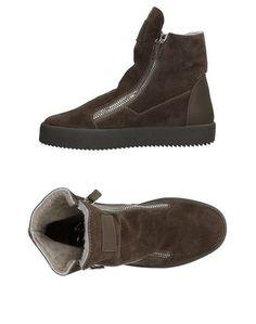 Женские высокие кеды и кроссовки Giuseppe Zanotti Design