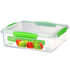Контейнер для продуктов Sistema Rectangle Fresh 3.5л Lime Green (951851)
