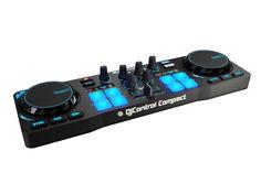 Dj контроллер Hercules DJControl Compact + Hercules LED Wristbands 10шт 4780881