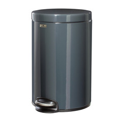 Ведро-контейнер для мусора Durable 12л Dark Grey 3411-58