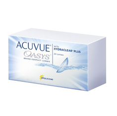 Контактные линзы Johnson & Johnson Acuvue Oasys with Hydraclear Plus (24 линзы / 8.4 / -2.5)