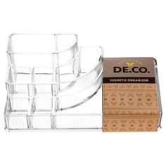 Органайзер для косметики и аксессуаров `DE.CO.` открытый (малый, 01) Deco