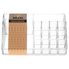 Органайзер для косметики и аксессуаров `DE.CO.` открытый (большой, 01) Deco