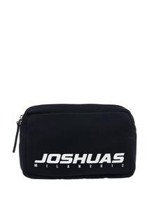 Черная поясная сумка с логотипом Joshua Sanders