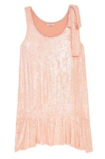Платье с розовыми пайетками P.A.R.O.S.H.