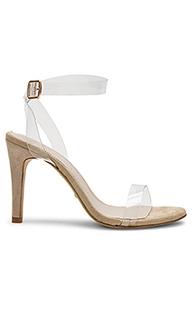 Туфли на каблуке с открытым носком sabine - RAYE