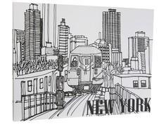 """Панно """"New york"""" Colibri"""