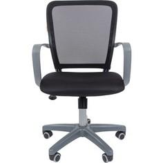 Офисноекресло Chairman 698 серый пластик TW черный