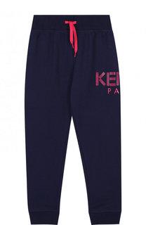Хлопковые джоггеры с логотипом бренда Kenzo