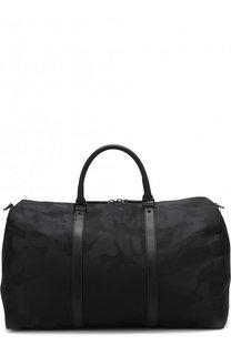 Текстильная дорожная сумка Valentino Garavani с камуфляжным принтом Valentino