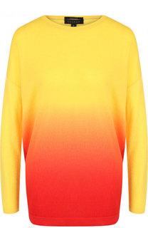 Кашемировый пуловер с эффектом деграде Escada
