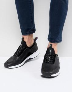 Черные кожаные кроссовки PS Paul Smith Mookie - Черный
