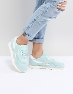 Нейлоновые кроссовки Reebok Classic - Зеленый