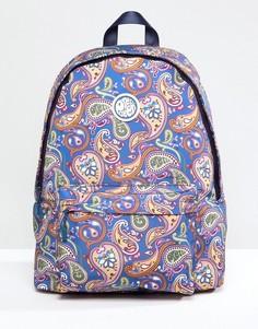 Разноцветный нейлоновый рюкзак с принтом пейсли Pretty Green - Мульти