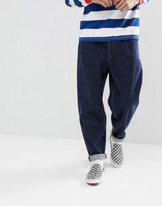 Темные оверсайз-джинсы из переработанной ткани ASOS DESIGN - Синий