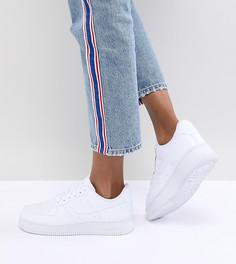 Белые кроссовки Nike Air Force 1 - Белый