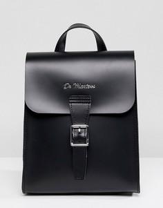 Маленький кожаный рюкзак Dr Martens - Черный