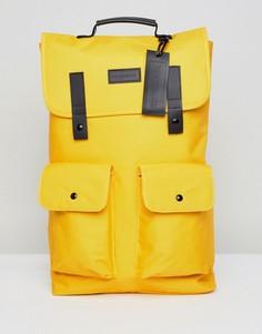 Желтый рюкзак с карманом Consigned Twim - Желтый