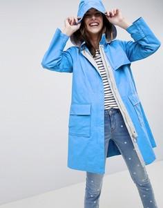 Макинтош с капюшоном Esprit - Синий