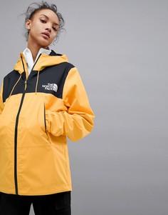 Желтая куртка The North Face 1990 Mountain Q - Желтый