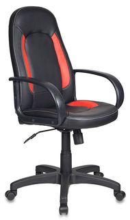 Кресло руководителя БЮРОКРАТ CH-826, искусственная кожа [ch-826/b+r]