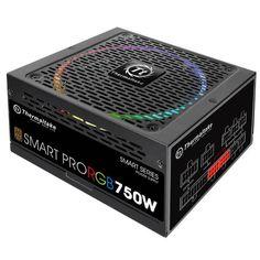 Блок питания THERMALTAKE SMART PRO RGB, 750Вт, 140мм, черный, retail