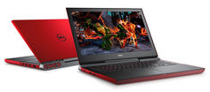 "Ноутбук DELL Inspiron 7567, 15.6"", Intel Core i5 7300HQ 2.5ГГц, 8Гб, 1000Гб, nVidia GeForce GTX 1050 - 4096 Мб, Windows 10, 7567-1863, красный"