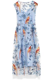 Платье с вышивкой La Reine Blanche