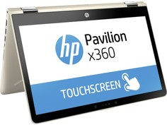 Ноутбук HP Pavilion x360 14-ba017ur (золотистый)