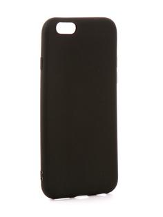 Аксессуар Чехол EVA Silicone для APPLE iPhone 6/6s Black IP8A001B-6