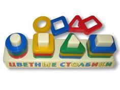 Сортер Аэлита Цветные столбики ЦТ-1