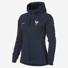 Женская худи c молнией во всю длину France Tech Fleece Nike