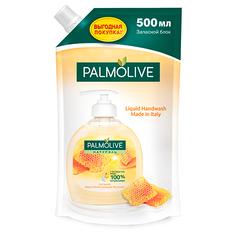 Мыло жидкое `PALMOLIVE` НАТУРЭЛЬ Молоко и Мед сменный блок 500 мл