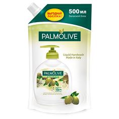 Мыло жидкое `PALMOLIVE` НАТУРЭЛЬ Оливковое молочко сменный блок 500 мл