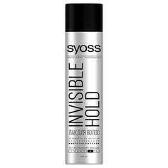 Лак для волос `SYOSS` INVISIBLE HOLD Микро-распыление (экстрасильная фиксация) 400 мл