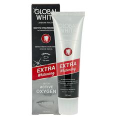 Паста зубная `GLOBAL WHITE` EXTRA WHITENING с углем и активным кислородом 100 мл