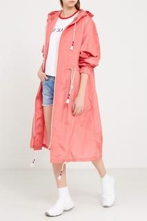 Розовый дождевик на молнии Mira Mikati