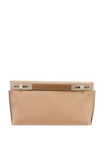 Бежевая сумка из кожи Missy Loewe