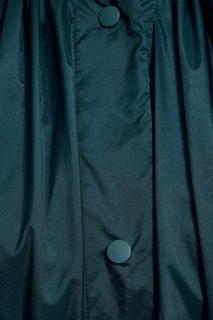 Зеленый плащ на кнопках Adolfo Dominguez