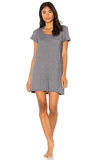 Платье-рубашка mabel - Skin