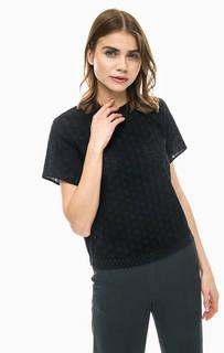 Черная блуза с застежкой на спине Marc Opolo