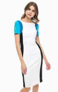 Платье-футляр с короткими рукавами Trussardi Jeans