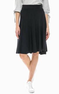 Расклешенная юбка серого цвета Marc Opolo