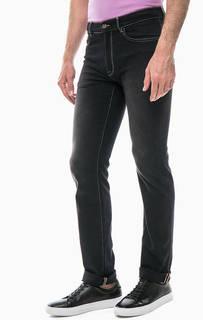 Серые джинсы с шестью карманами Trussardi Jeans